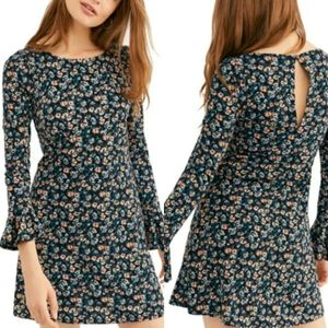 NWT Free People Say Hello Mini Dress